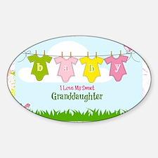 Sweet Granddaughter Decal