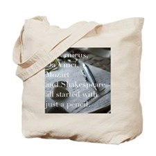 Inspirational Quote Tote Bag