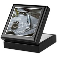 Inspirational Quote Keepsake Box