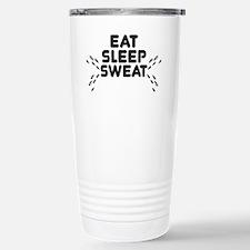 eat sleep sweat Travel Mug