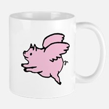Adorable Angel Pig Mugs
