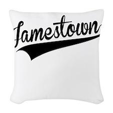 Jamestown, Retro, Woven Throw Pillow