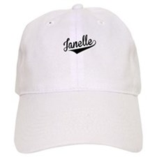 Janelle, Retro, Baseball Baseball Cap