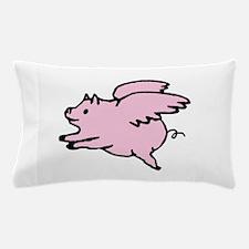 Adorable Angel Pig Pillow Case
