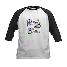 Peace Love Bowling Tee