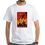 Obey the Boxer! White T-Shirt