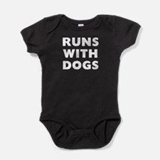 Runs Dogs Baby Bodysuit