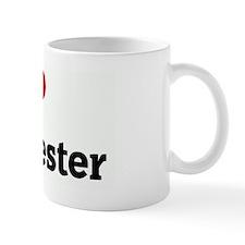 I Love manchester Coffee Mug
