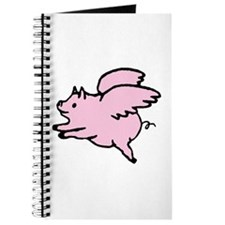 Adorable Angel Pig Journal