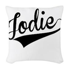 Jodie, Retro, Woven Throw Pillow