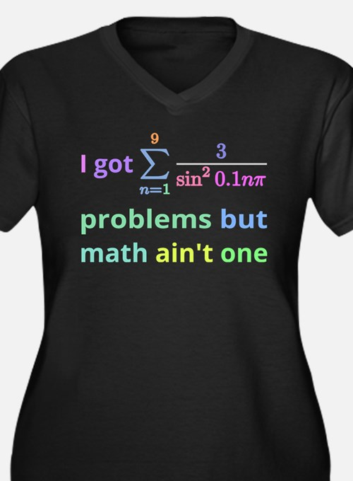 I got 99 problems but math aint one (for dark back