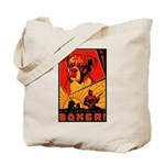 Obey the Boxer! Tote Bag