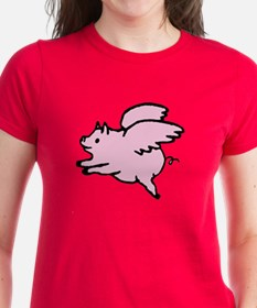 Adorable Angel Pig T-Shirt
