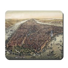 Map of New York City Mousepad