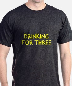 Eating For Two Drinking For Three T-Shirt