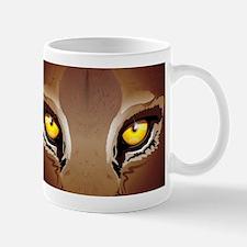 Wild Puma Eyes Mugs