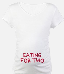 Eating For Two Drinking For Thre Shirt