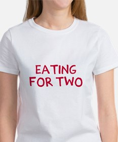 Eating For Two Drinking For Three Women's T-Shirt