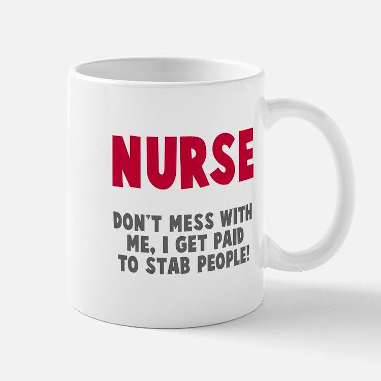 Nurse Stab People Mug