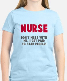 Nurse Stab People T-Shirt