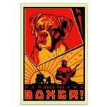 Obey the Boxer! Large Poster