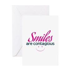 Smiles Are Contagious - Greeting Cards
