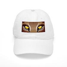 Wild Puma Eyes Baseball Baseball Cap