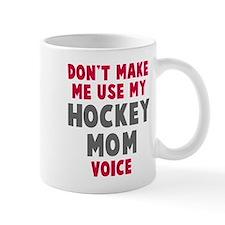 Hockey Mom Voice Small Mug