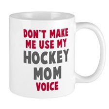 Hockey Mom Voice Small Mug