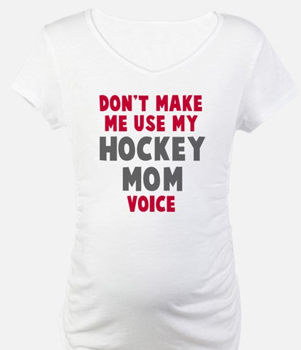 Hockey Mom Voice Shirt