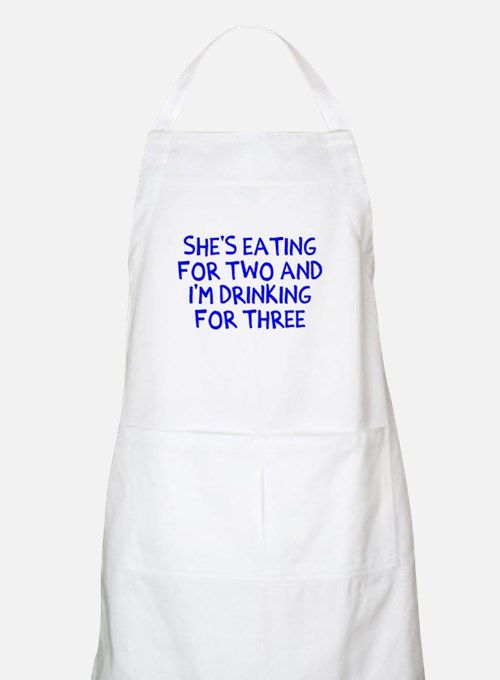 Drinking For Three Apron