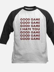 Good Game I Hate You Kids Baseball Jersey