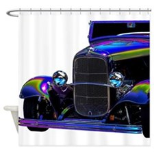 Classic Ford Hotrod - Vintage Auto Shower Curtain