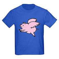 Adorable Angel Pig T-Shirt