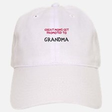 Great moms promoted Baseball Baseball Cap