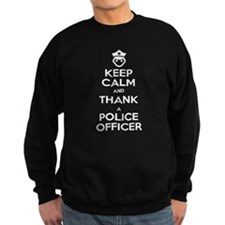 Keep Calm Police 1 Sweatshirt
