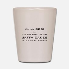 Spaced Jaffa Cakes Shot Glass