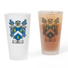 Bell Coat of Arms Drinking Glass
