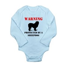 Protected By A Sheepdog Body Suit