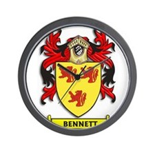 Bennett Coat of Arms Wall Clock