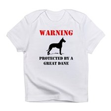 Protected By A Great Dane Infant T-Shirt