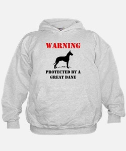 Protected By A Great Dane Hoodie