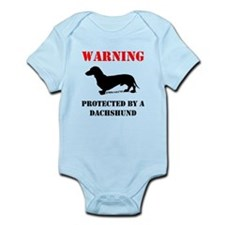 Protected By A Dachshund Body Suit
