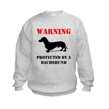 Protected By A Dachshund Sweatshirt