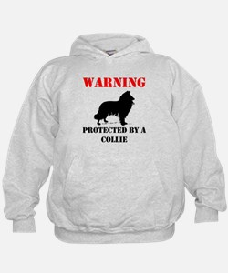 Protected By A Collie Hoodie