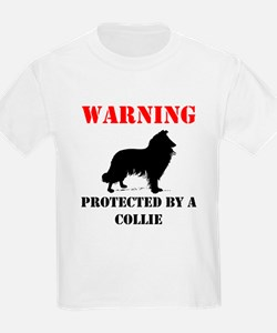 Protected By A Collie T-Shirt