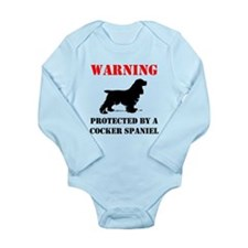 Protected By A Cocker Spaniel Body Suit