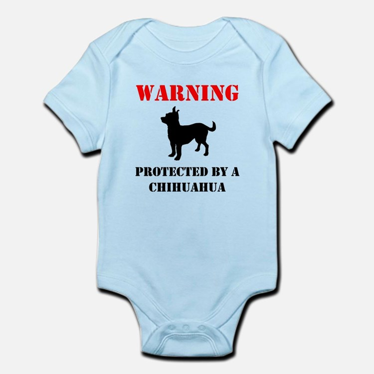 Protected By A Chihuahua Body Suit
