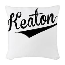 Keaton, Retro, Woven Throw Pillow