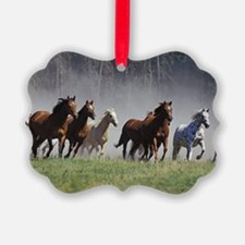 Galloping Horses Ornament